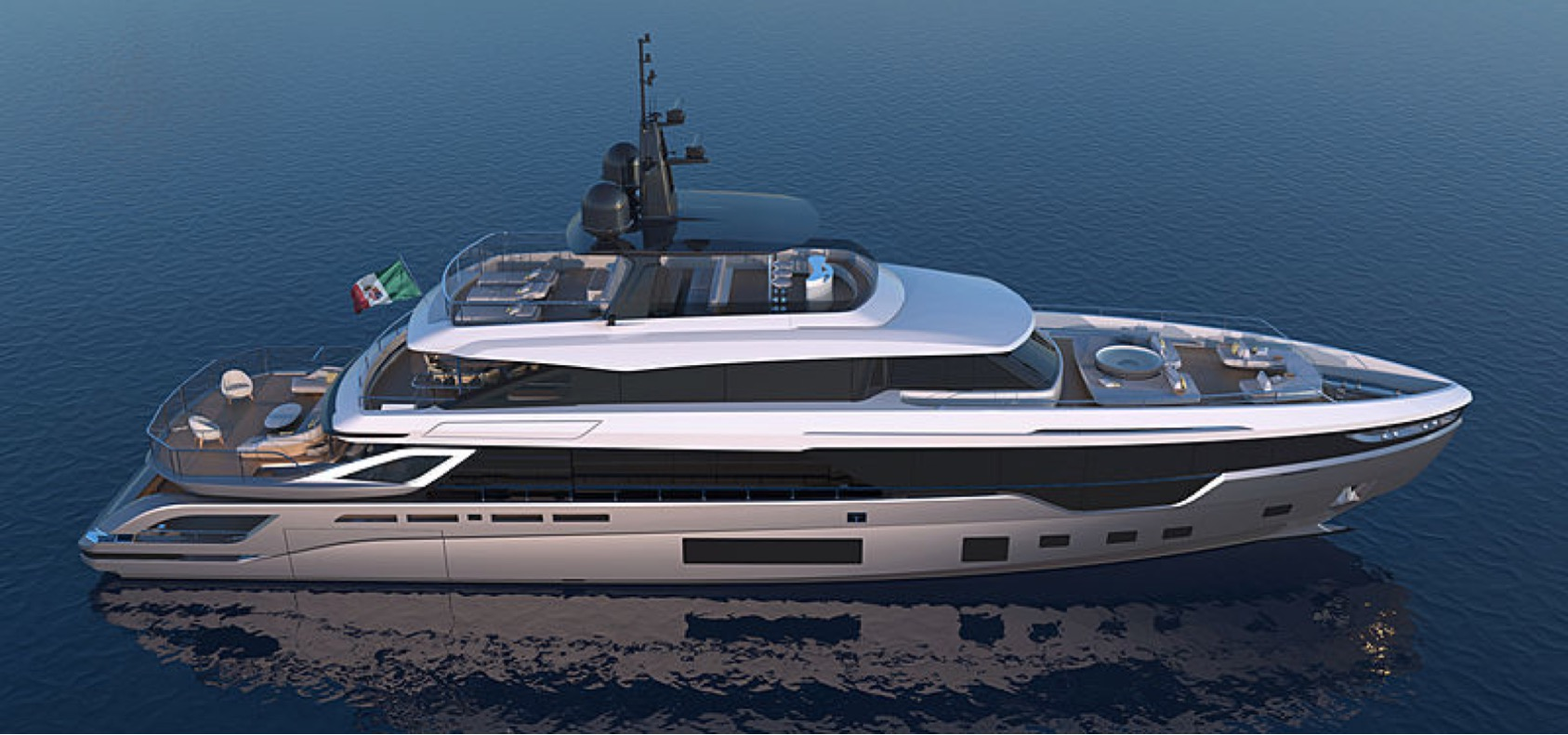 The Azimut Grande Trideck: Azimut Yacht's First Trideck and the Largest Megayacht They Have Ever Built