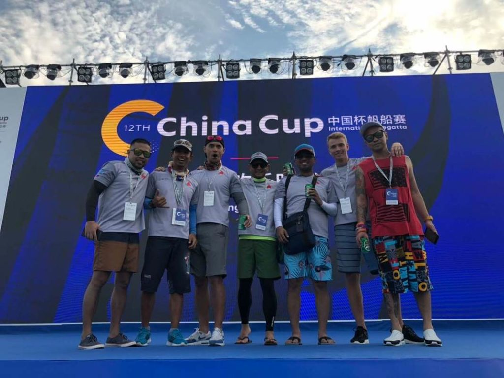 Europa Yachts Subic Sailing Team Beneteau - China Cup 2018 - 2