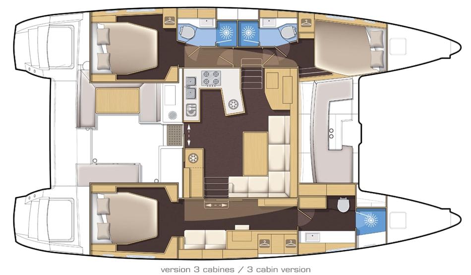 Lagoon 450 layout 001