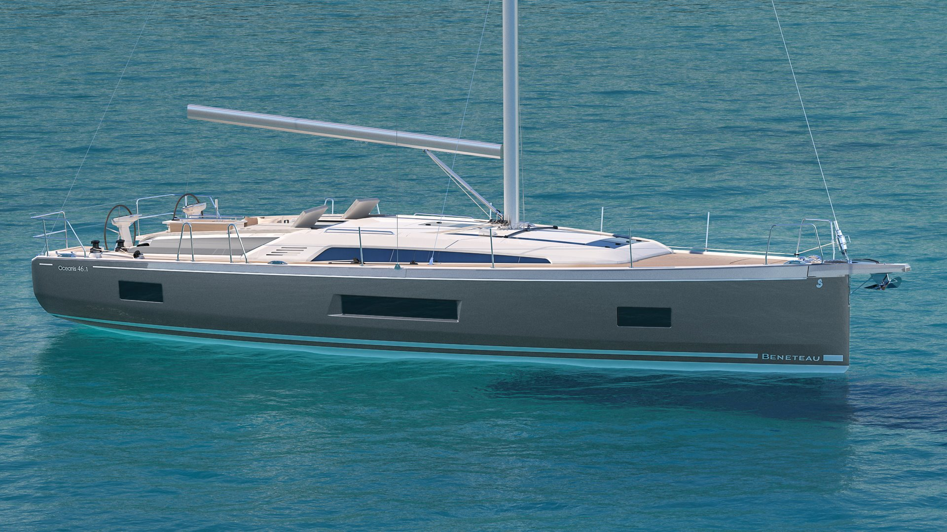 The New Beneteau Oceanis 46.1, shaping the future of a bestseller