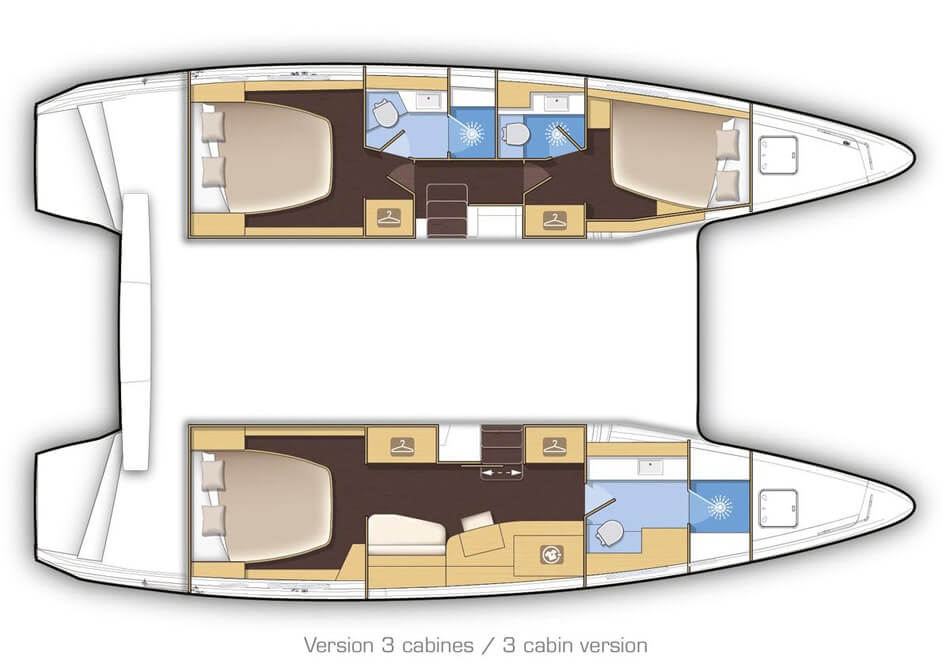 catamarans 42 layout