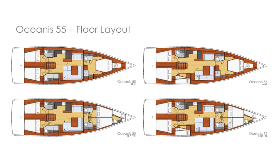 oceanis 55 floor layout